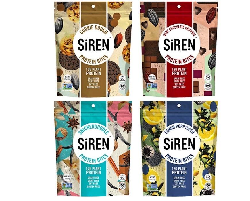 siren snacks protein bites