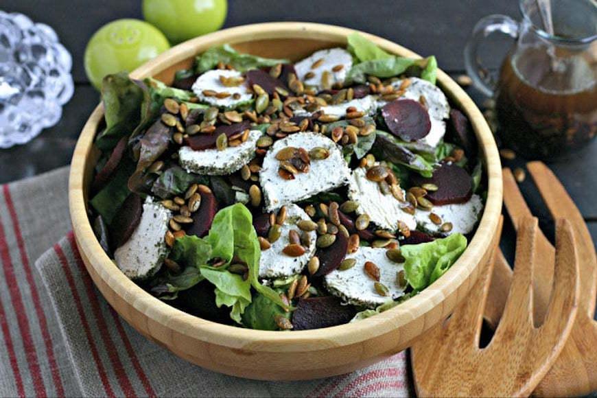 thyme thanksgiving salad recipe