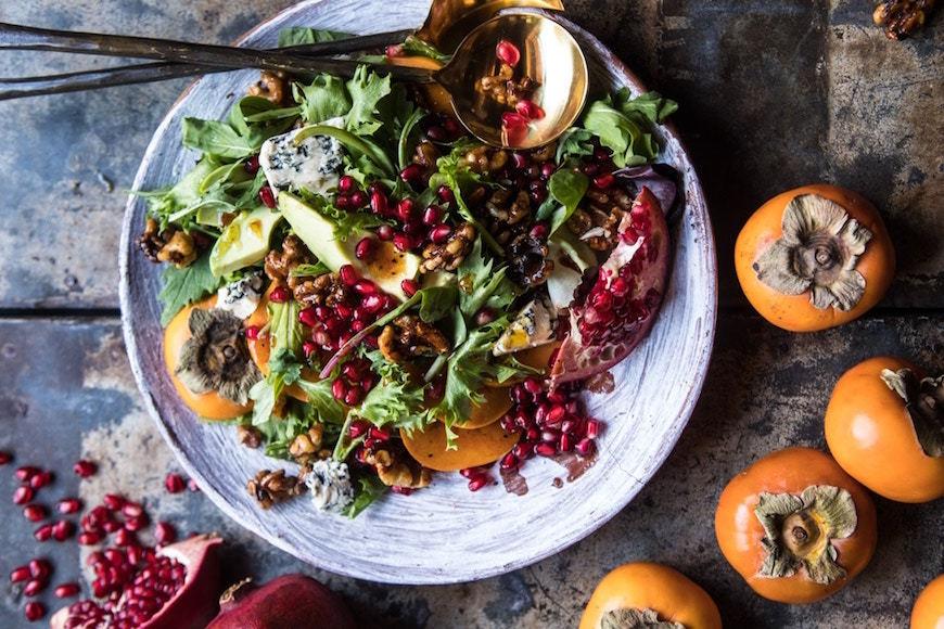 avocado Thanksgiving salad recipe