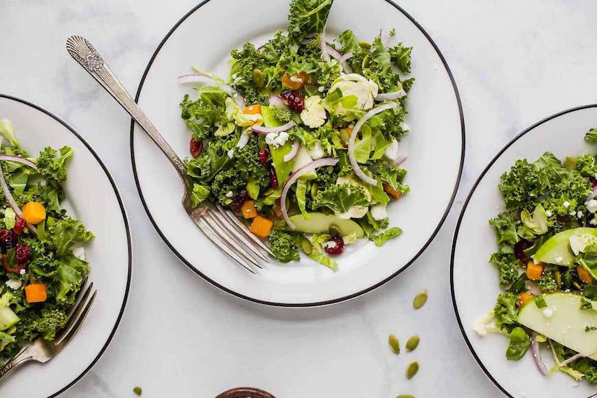 brussels sprouts thanksgiving salad