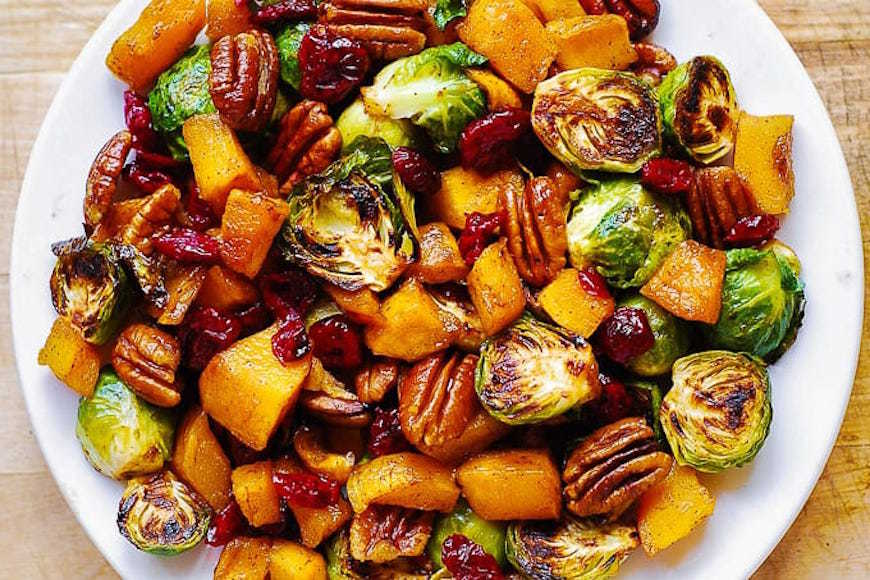 brussels sprouts thanksgiving salad recipe