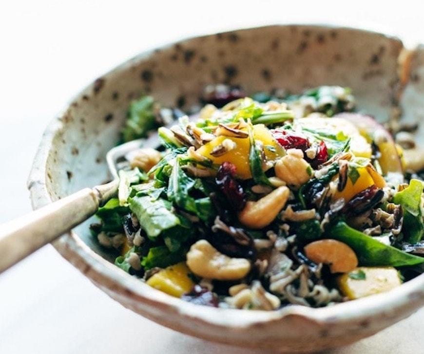 wild rice thanksgiving salad