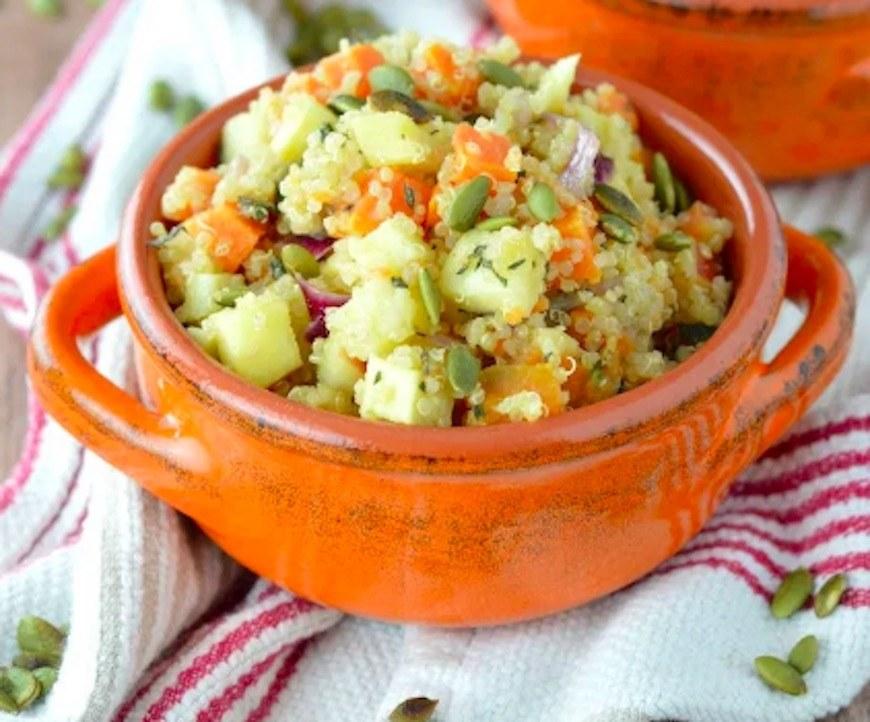 warm thanksgiving salad recipe
