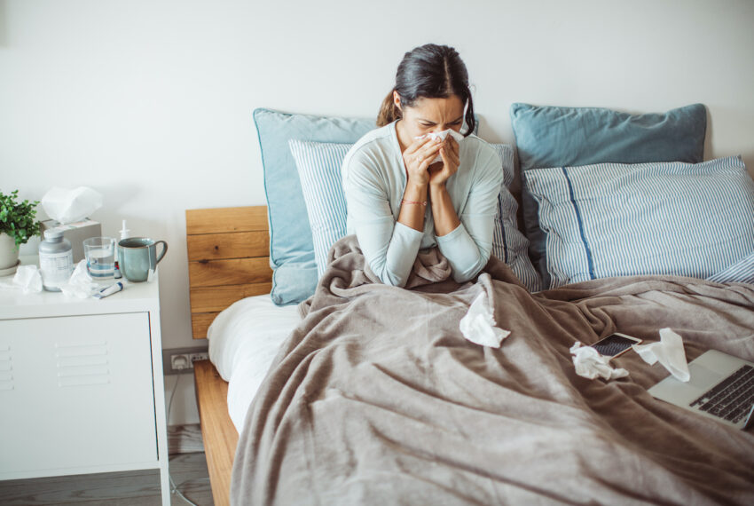 The 2 Things You Should *Always* Drink When You're Sick, According to Dietitian