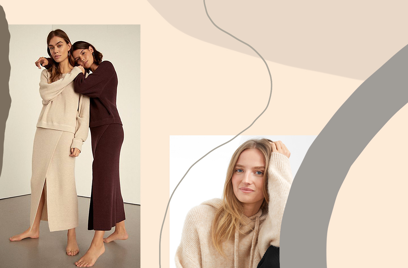 Thumbnail for Wear your cozies all day long with these softer than a dream sweater suits