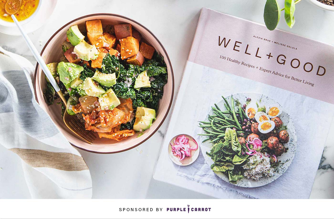 Thumbnail for PSA: You can now get meals from The Well+Good Cookbook delivered to your door from Purple Carrot