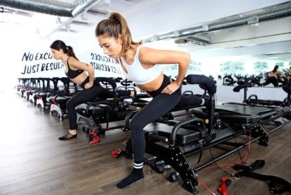SLT is debuting a megaformer-treadmill class that gives you planks with a side of sprinting