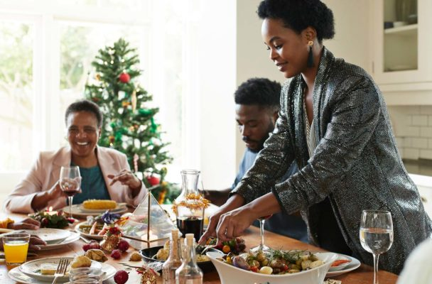 Tap this back-pocket tip to take the pressure off navigating the holiday food scene