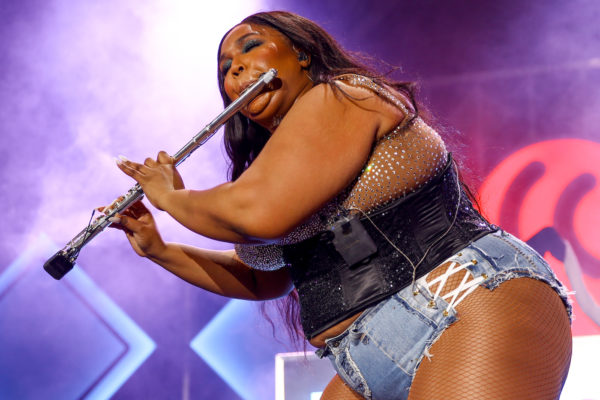 Lizzo is entertainer of the year, and she's also my personal mental health hero