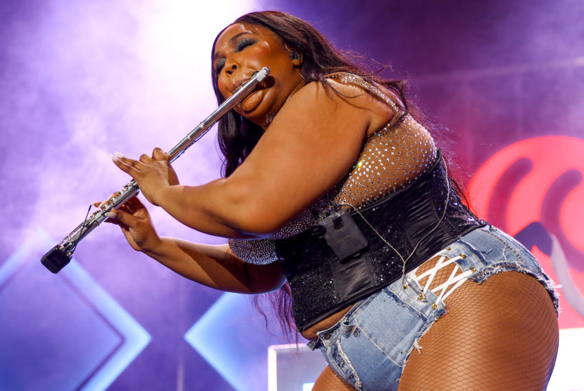 Lizzo is entertainer of the year, and she's also my personal mental...