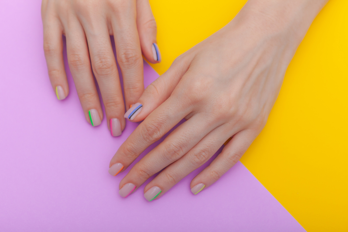 Thumbnail for Stick-on Manicures Last Just As Long As Gels With None of the Damage to Your Nails