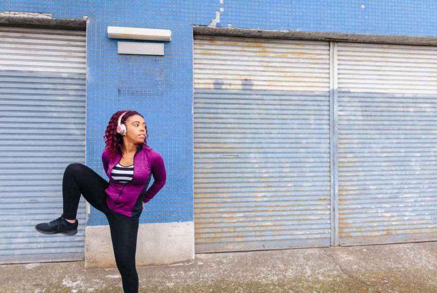 """These hip-opening """"gate"""" stretches are key to mobility in your..."""