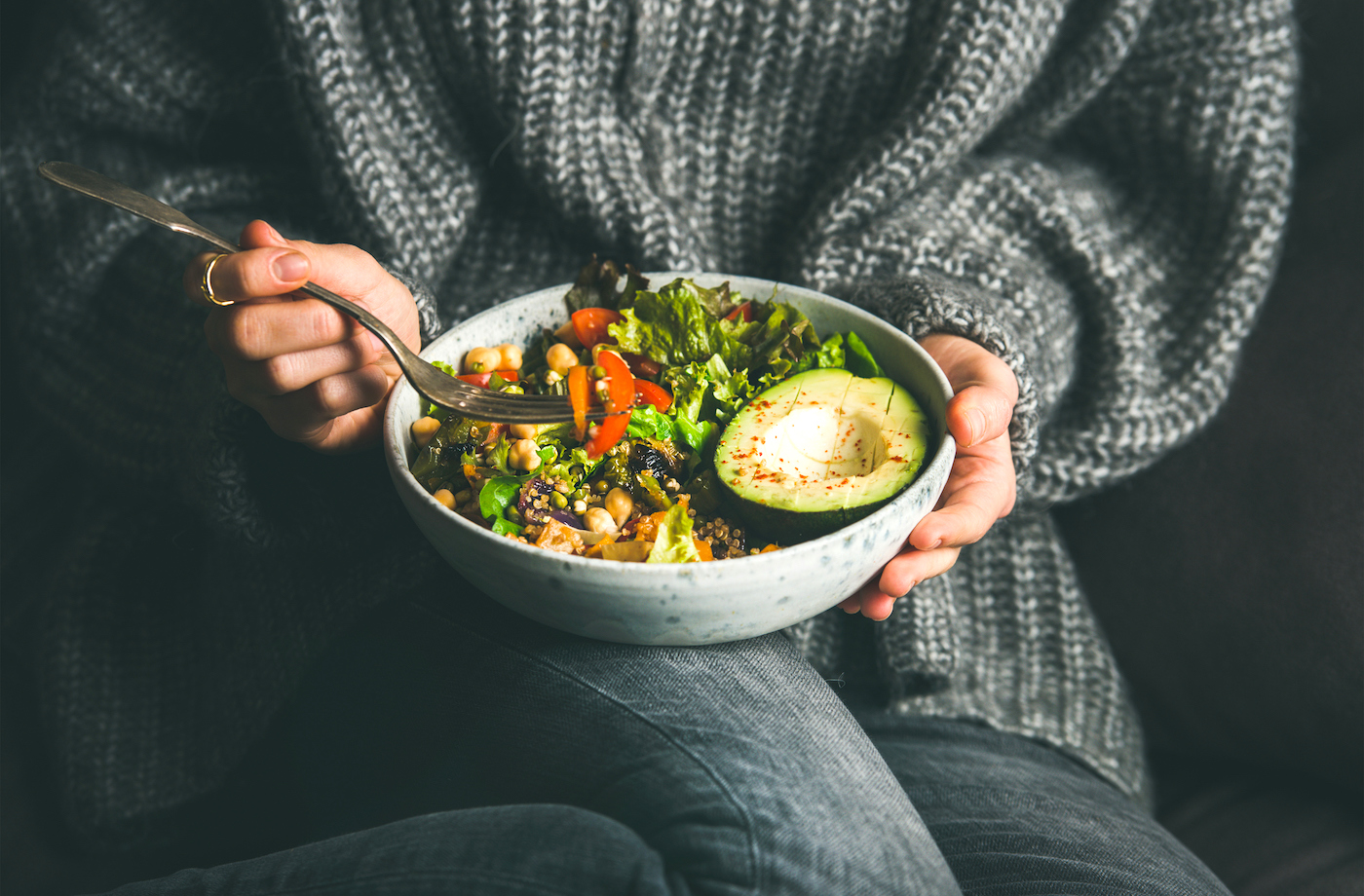 The 5 most common mistakes people make when they try to eat plant-based, according to a dietitian