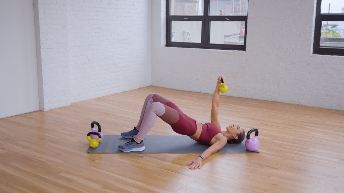 Amp up arms day with this 5-move kettlebell workout, straight from a trainer