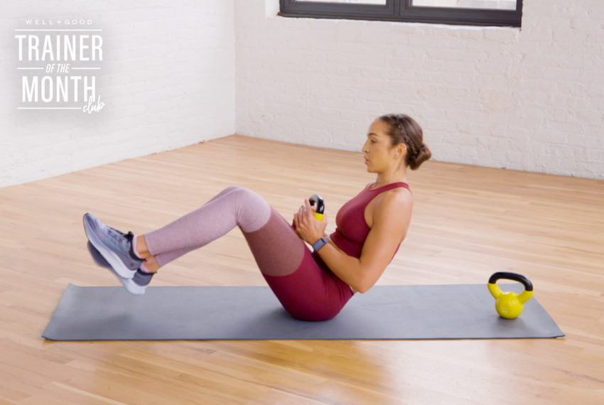 If your regular old abs workout has started to feel snoozy, try adding a kettlebell