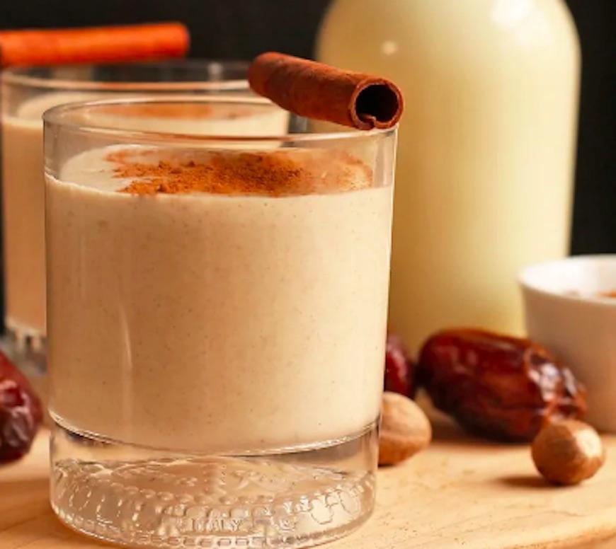cashew milk eggnog