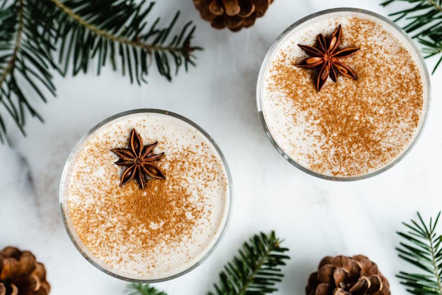 There's only one month a year when it's acceptable to drink eggnog—here's how to do it vegan, dairy-free, and delicious