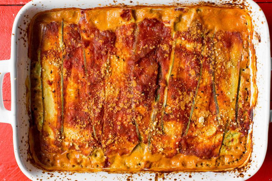 gluten-free healthy lasagna