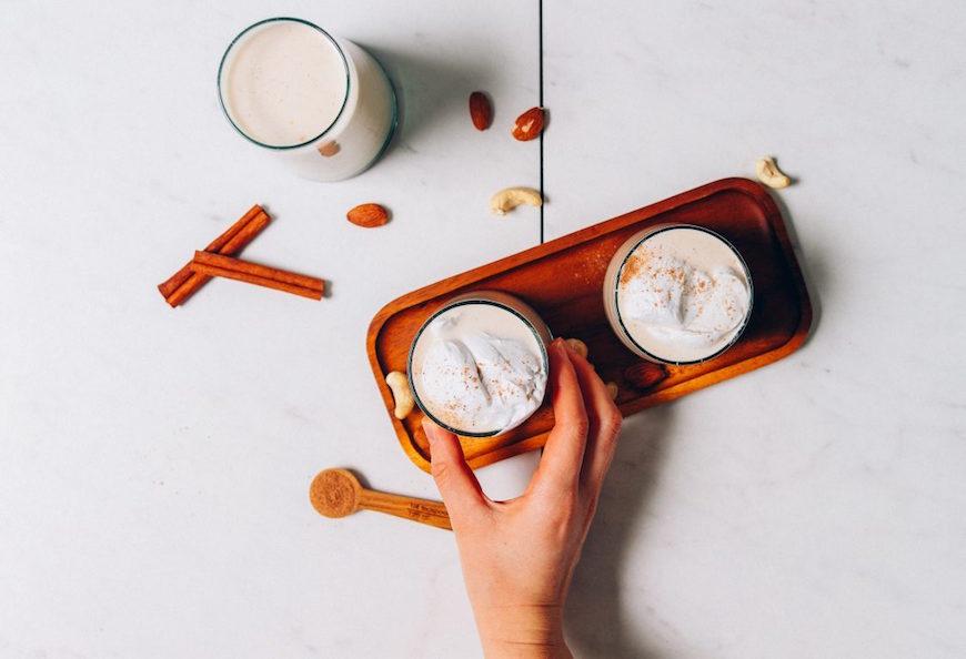 minimalist baker vegan eggnog