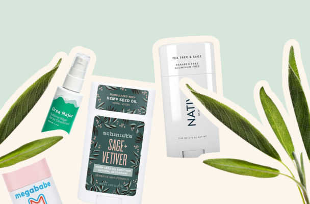 Sage is the deodorant ingredient that doesn't just cover sweat, it squelches it altogether