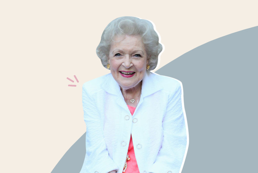 The unstoppable Betty White turns 98 today—these are her secrets to...