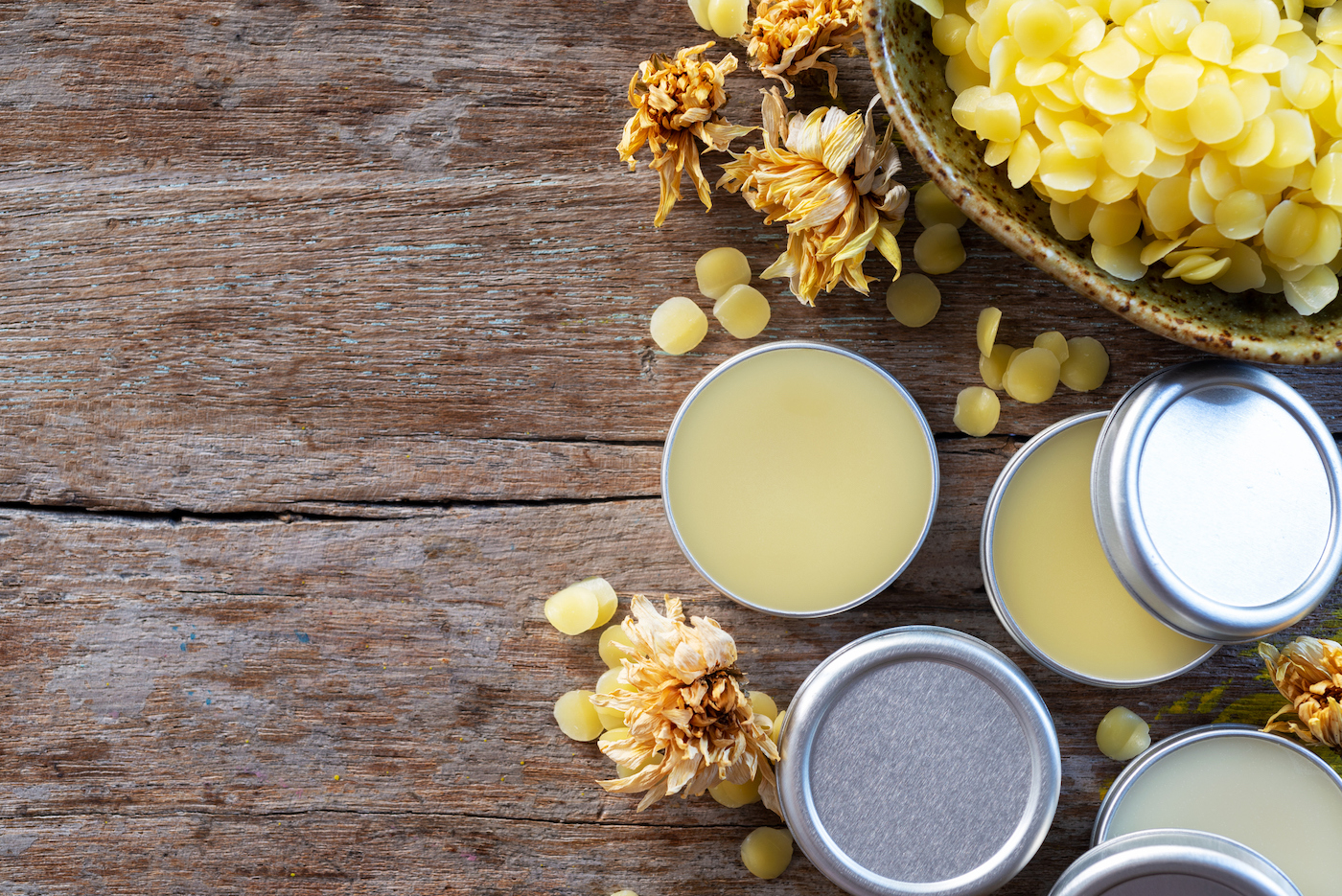 Thumbnail for The Surprising Uses for Beeswax Your Skin Will Thank You For