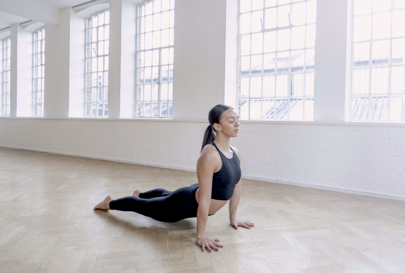 These chest-opening yoga moves 'flush out' your lungs for more open breathing