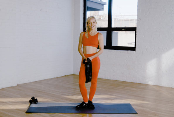 This 10-minute resistance band workout fires up every single arm muscle