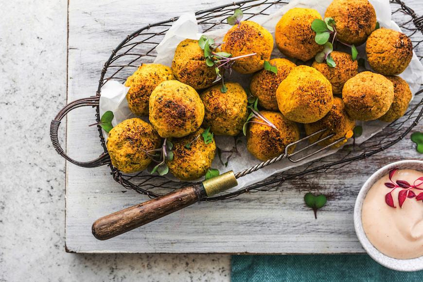 gluten-free meal ideas falafal