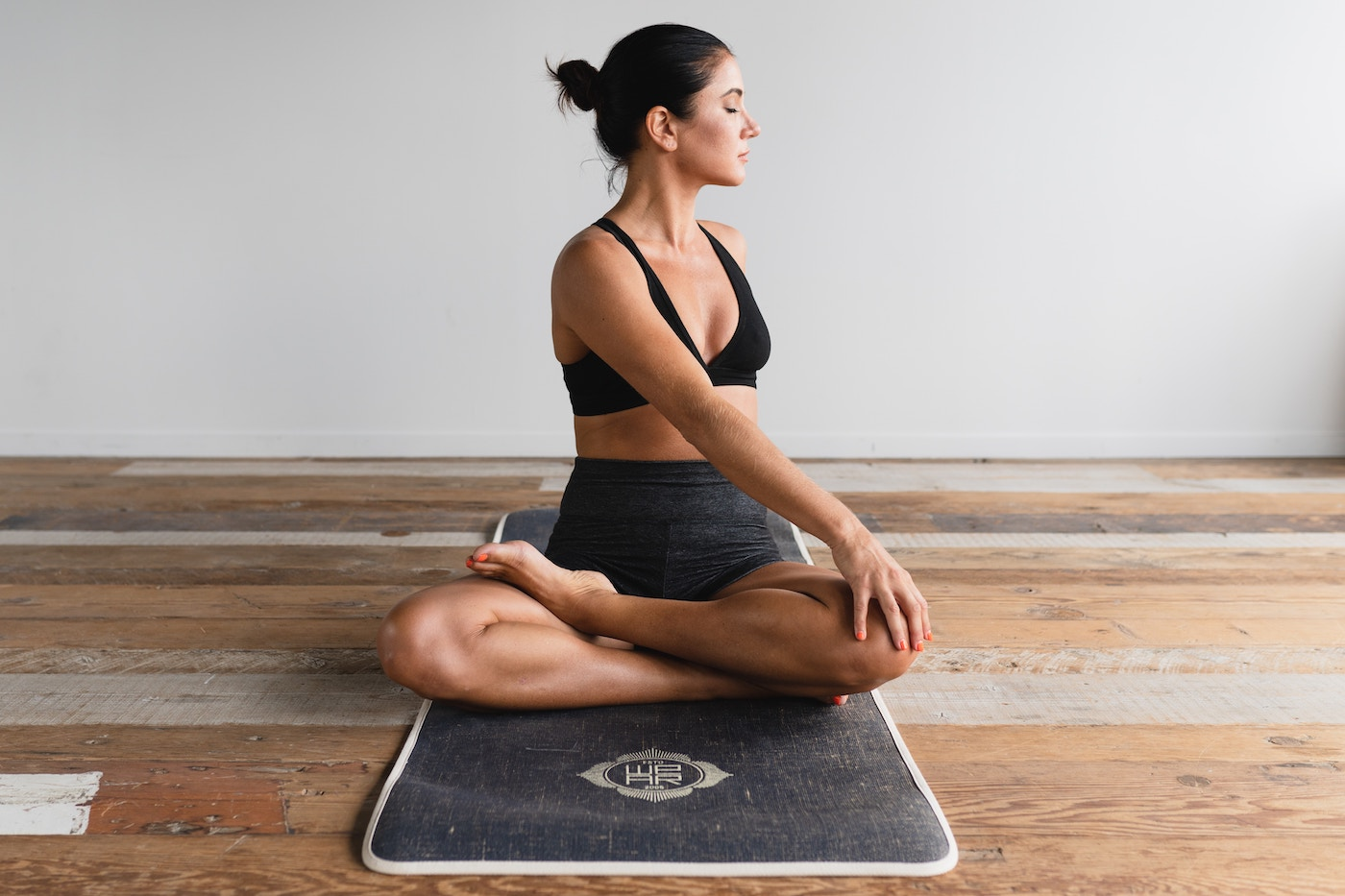 This is exactly how many weeks of yoga you need for stress relief