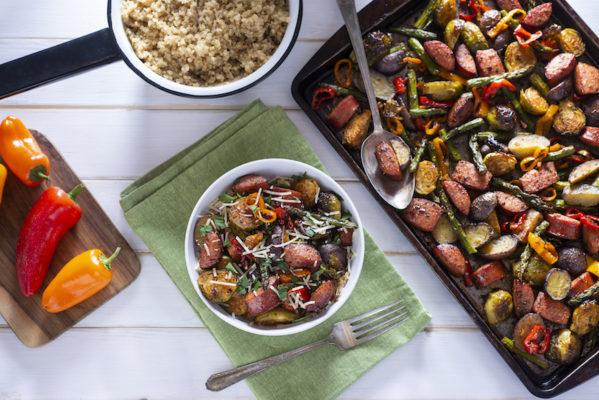 This formula for sheet-pan veggies 4 ways promises you'll never get bored with your dinner