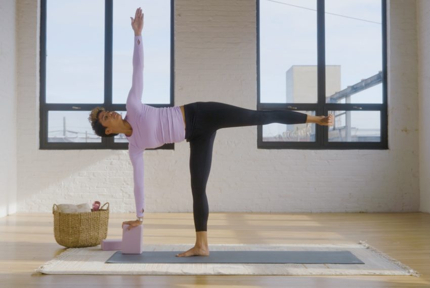 This 12-Minute Butt-Sculpting Yoga Flow Will Put Squats and Lunges to Shame
