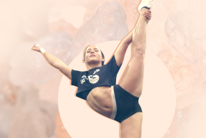 I'm Gabi Butler from 'Cheer,' and my workout isn't over until I do this one thing