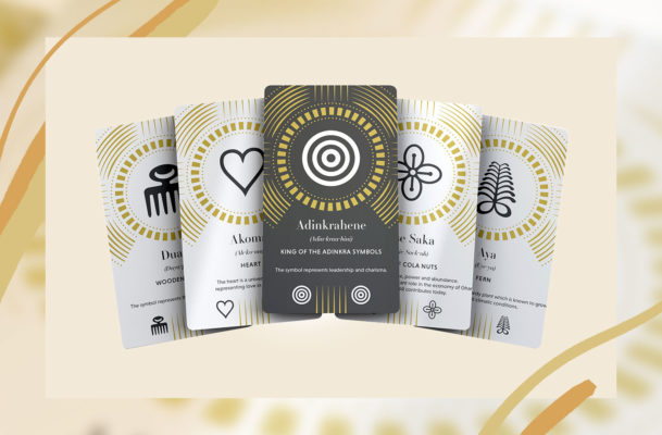 Adinkra guidance cards combine spiritual health and West African history to steer self care away from one-size-fits-all routines