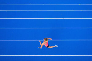 I'm an endurance athlete, but running a short race was harder than the marathon