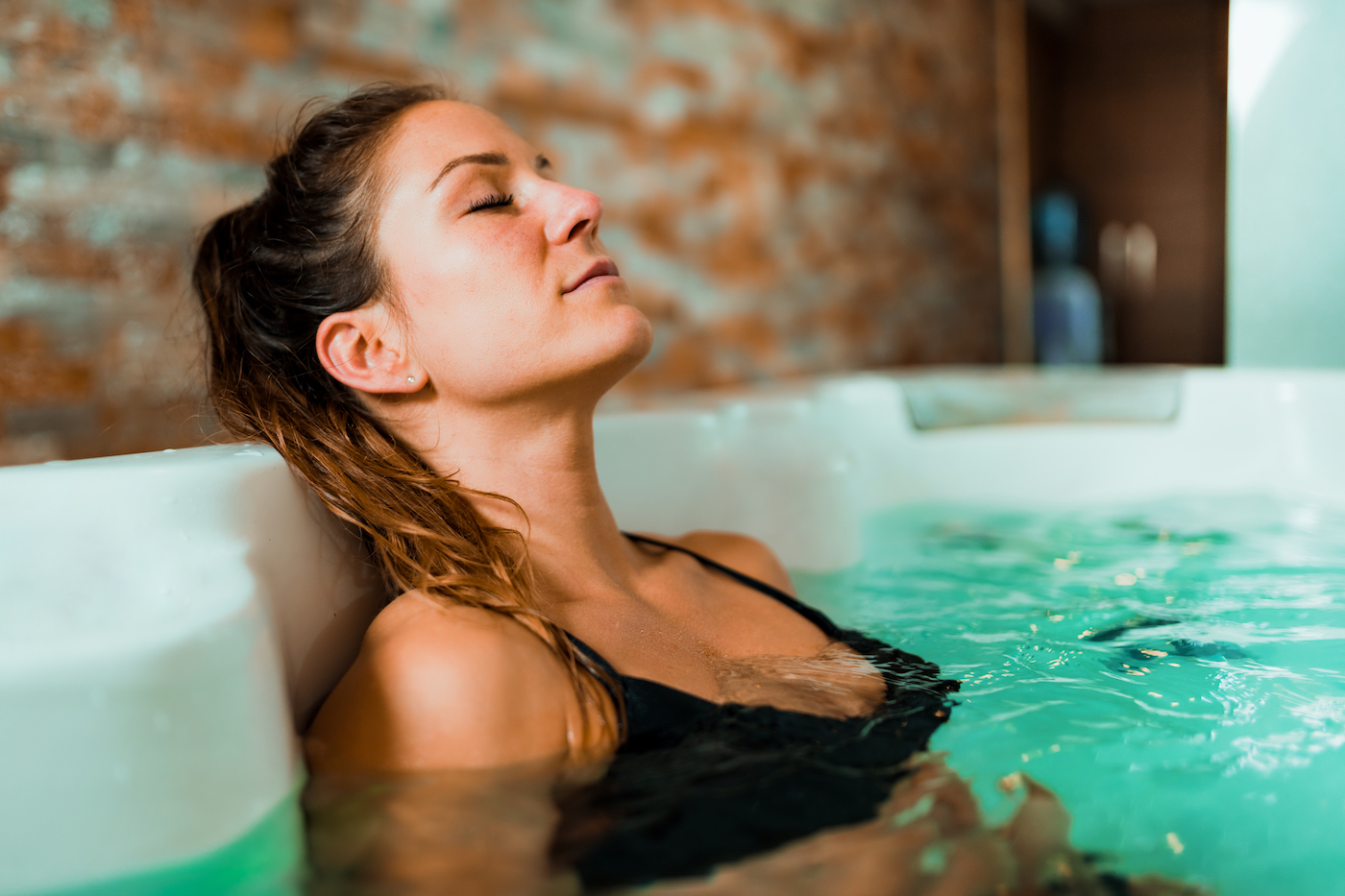 Thumbnail for Hydro-Massage Is the Latest Way to Recover at the Gym, and We're *Here* for It