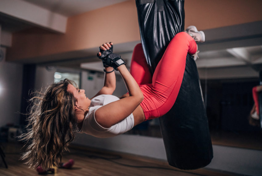 Flip your crunches upside down to work your core in an entirely new way