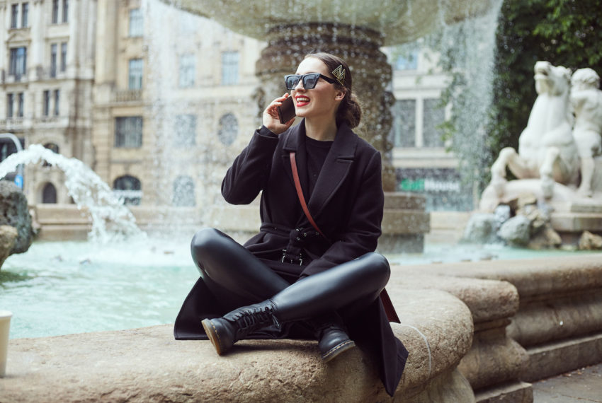 I Haven't Worn Pants All Winter, Thanks to These Under-$100 Faux Leather Leggings