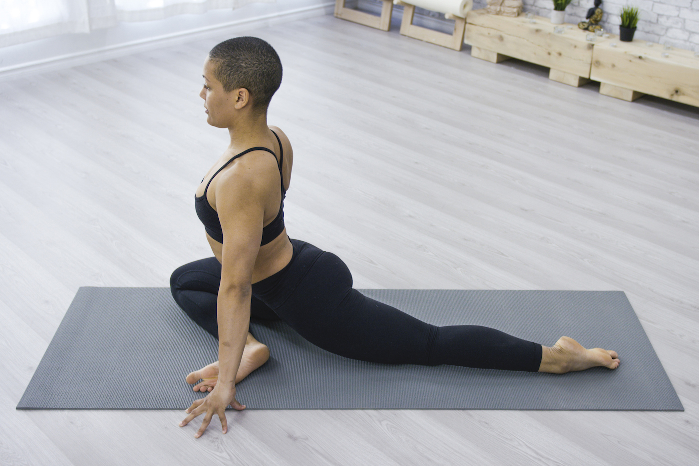 Meridian exercises through yoga are the chillest way to open up your entire body