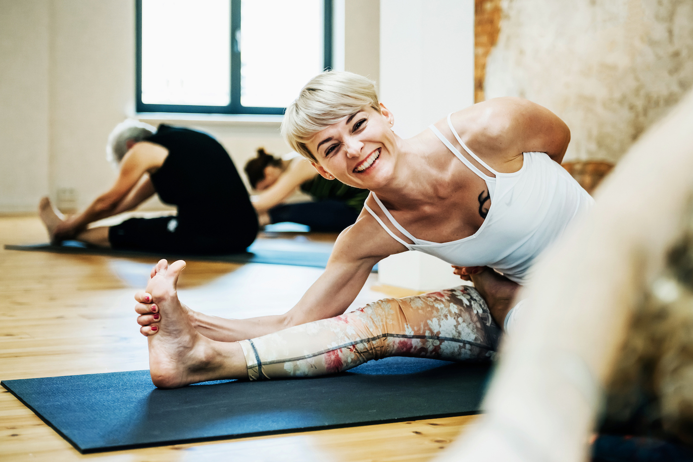 What it's like to take a class focused solely on stretching out your muscles