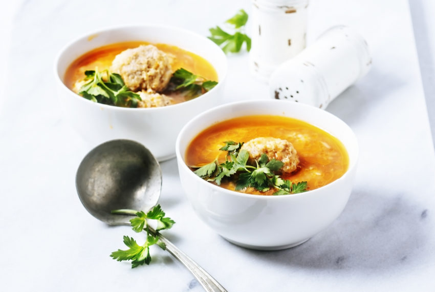 Beat cold and flu season with this healthy, warming, Italian-style soup