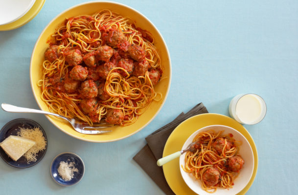 These easy, gut-healthy, plant-based meatballs come together in just 15 minutes