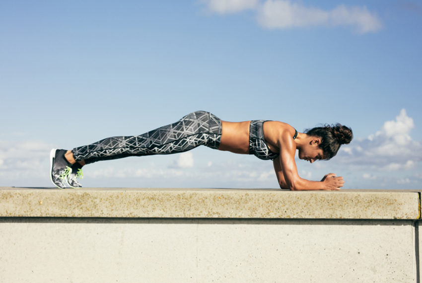 This Woman Set a World Record With a 4-Hour Plank—Here's Her Secret