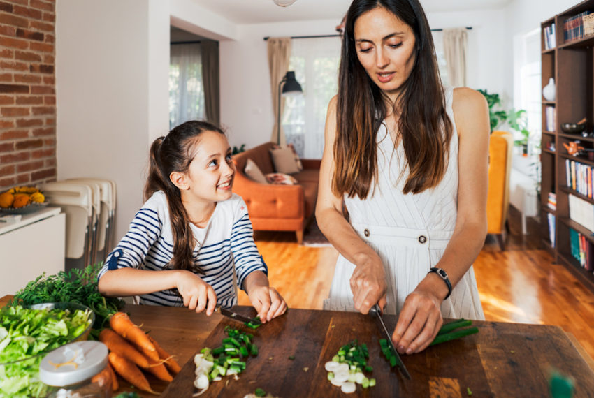 For some parents, raising the next generation of healthy eaters is about...
