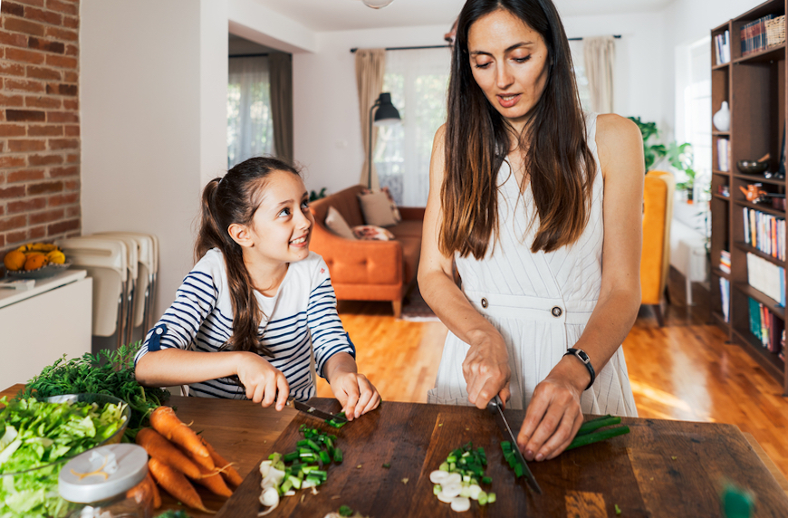Thumbnail for For Some Parents, Raising the Next Generation of Healthy Eaters Is About More Than Eating Vegetables—It's About Ending Diet Culture