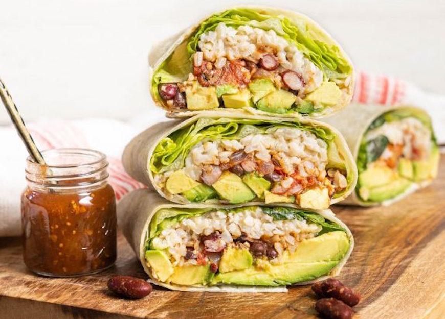 plant-based burritos