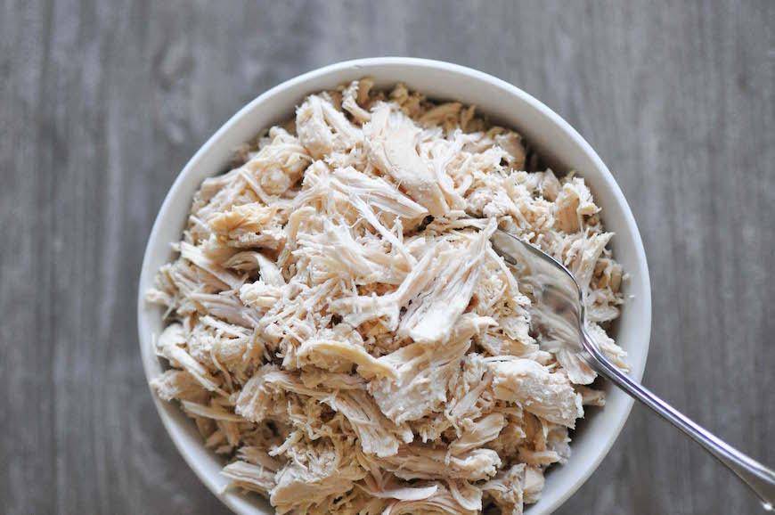 shredded chicken recipe