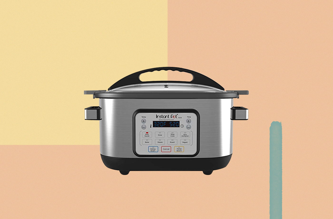 Thumbnail for Snag the Instant Pot Aura Slow Cooker for a Cool $60 Today—That's 54% Off