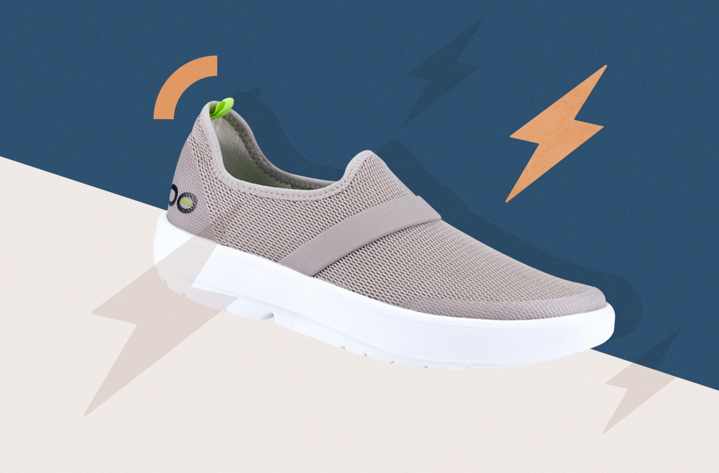 Thumbnail for Recovery Sneakers Have Arrived, Because We All Deserve a Foot Massage After the Gym