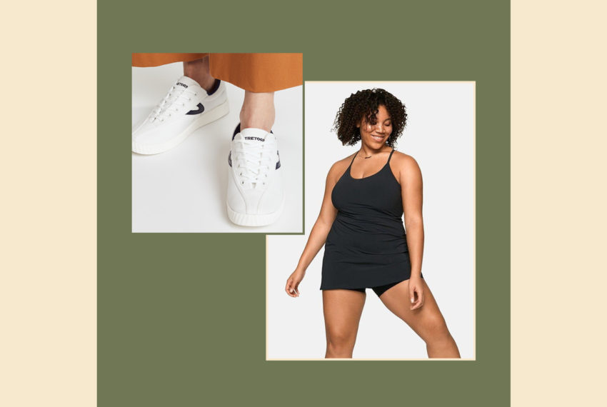How to Style the OV Exercise Dress for Winter, Because We're Team No Pants All Year Round